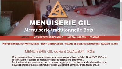 Site internet de Entreprise Gil