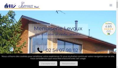 Site internet de SARL Levoux Pascal