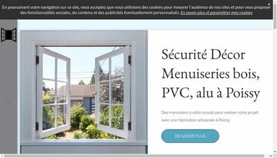 Site internet de Securite Decor
