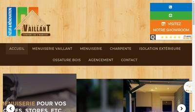 Site internet de Djimmy Vaillant