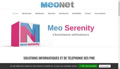 Site internet de Meonet