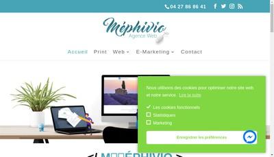 Site internet de Mephivio