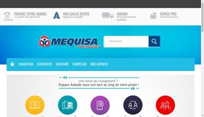 Site internet de SAS Mequisa