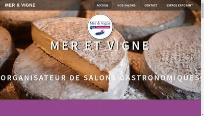 Site internet de Mer et Vigne
