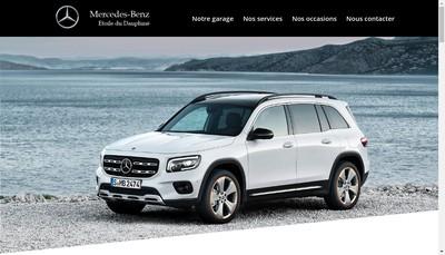 Site internet de Etoile du Dauphine Mercedes Benz