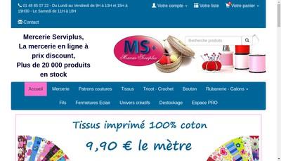 Site internet de Serviplus