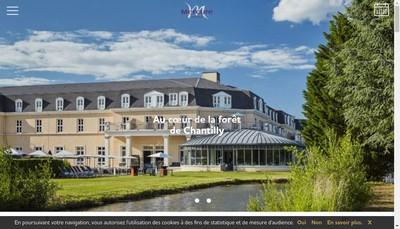 Site internet de Dolce Chantilly