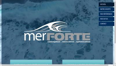 Site internet de Mer Forte
