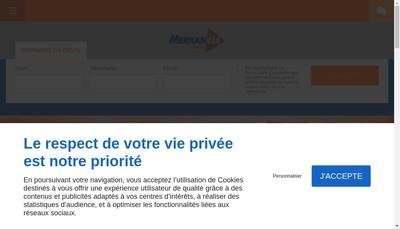 Site internet de Merkancia France