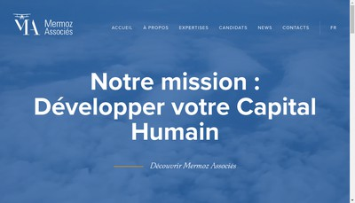 Site internet de Via Search et Mermoz Associes