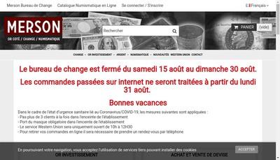 Site internet de Societe Exploitation Merson