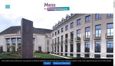 Site internet de Mess des Entrepreneurs