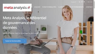 Site internet de Synergy et Meta Analysis