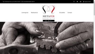 Site internet de Metafer