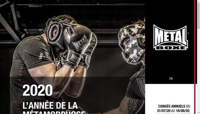 Site internet de Metal Boxe Attitude Fight