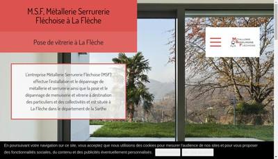Site internet de Metallerie Serrurerie Flechoise