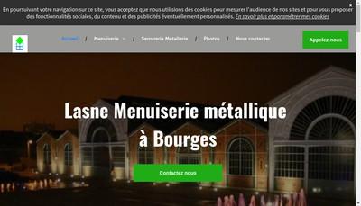Site internet de Lasne SAS