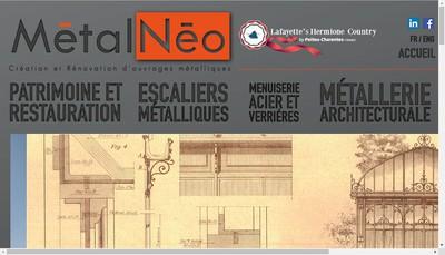 Site internet de Ami-Metalneo