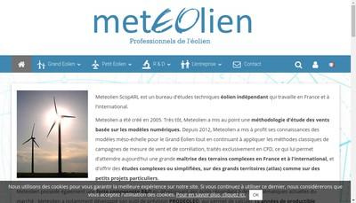 Site internet de Meteolien