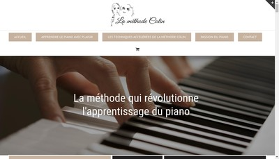 Site internet de La Methode Colin