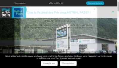 Site internet de Metral Passy