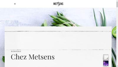 Site internet de Metsens Developpement