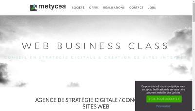 Site internet de Metycea