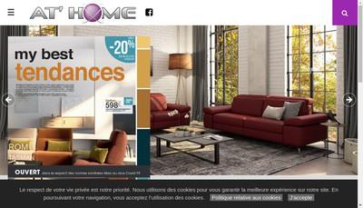 Site internet de Meubles At Home