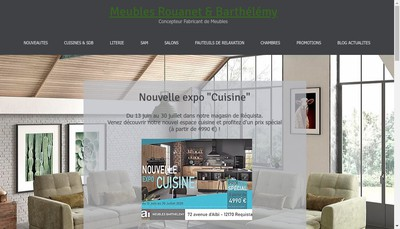 Site internet de Rouanet Barthelemy