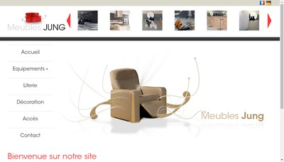 Site internet de Meubles Jung