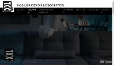 Site internet de Xxl Maison