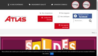 Site internet de Atlas Newco
