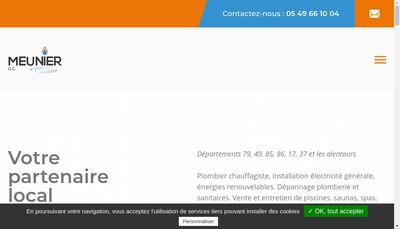 Site internet de Societe Meunier G -C