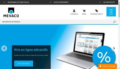 Site internet de Mevaco