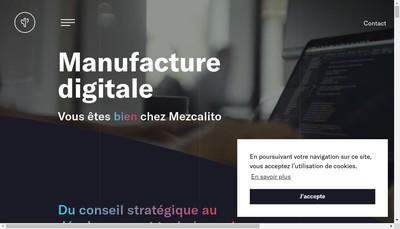 Site internet de Mezcalito