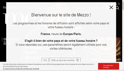 Site internet de Mezzo