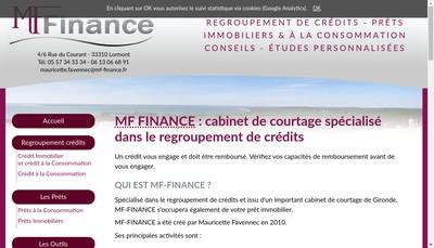 Site internet de Mf-Finance