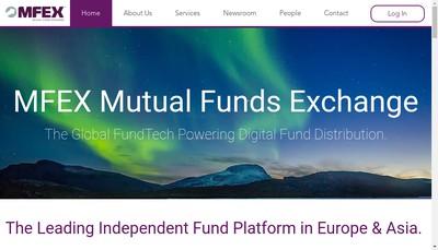 Site internet de Mfex France