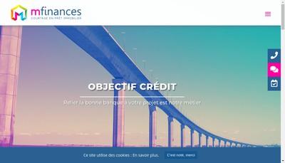 Site internet de M Finances