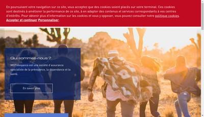 Site internet de Mfprevoyance