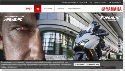 Site internet de Mg3 Motos Generation 3