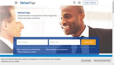 Site internet de Michael Page Rhone-Alpes