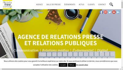 Site internet de SARL Michele Frene - Conseil