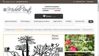 Site internet de Michele Bonte