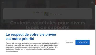Site internet de Plantes et Couleurs