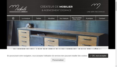 Site internet de Micheli Design