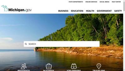 Site internet de Michigan