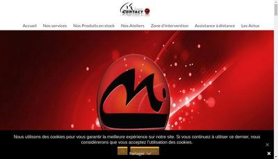 Site internet de Micro Contact