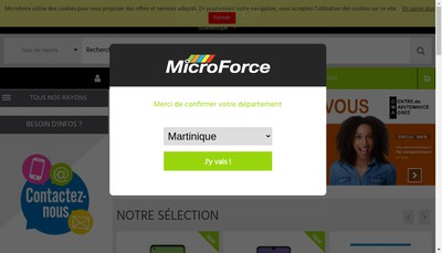 Site internet de Microforce