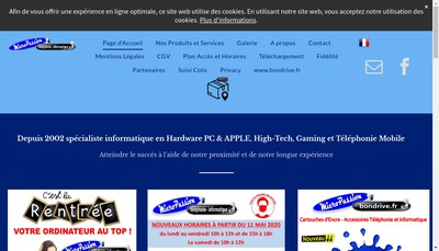 Site internet de Micro Passion